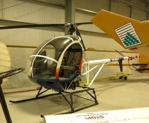 Helikoptertyp som används för att hämta upp vilt  från vildmarken