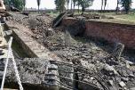 Nazisterna sprängde gasunganarna i Birkenau, dagen före befrielsen 1945.