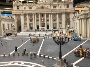 Marcusplatsen, påven på sin balkong